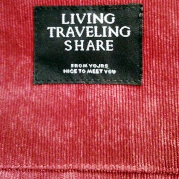 Жіноча вельветова сумка з тканини на плече - вишнева