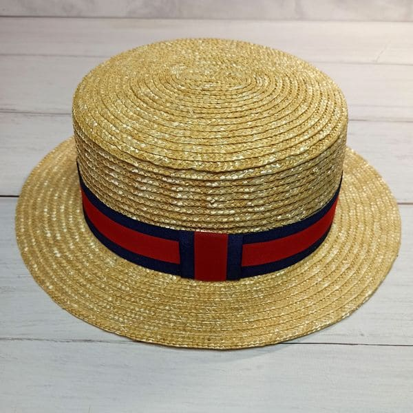 Соломенная шляпа унисекс Fedora