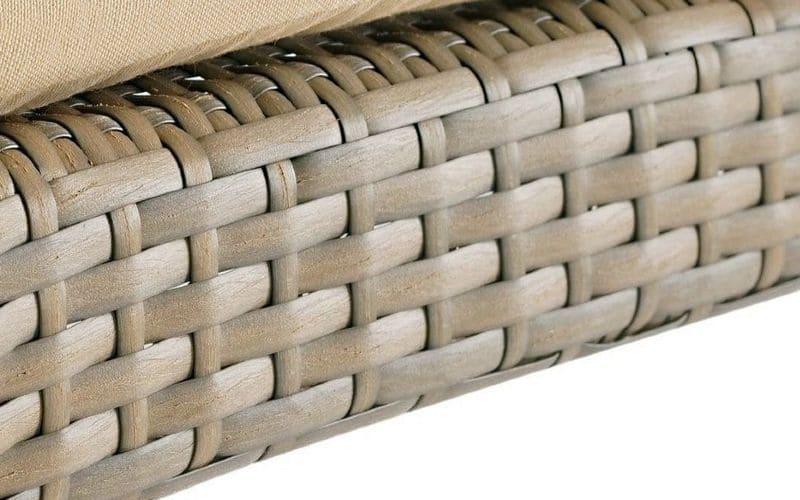 плетение натуральным ротангом, плетение ротанга